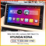 Màn hình liền camera 360 Oled C1s cho xe Hyundai Kona - Sở hữu công nghệ màn hình hàng đầu cho xế yêu C1s_0