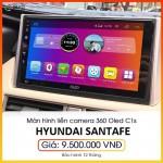 Màn hình tích hợp camera 360 Oled C1s cho xe Hyundai Santafe - Công nghệ tiên phong hình ảnh sắc nét C1s_0