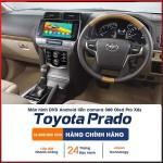 Màn hình liền camera 360 X6s cho Toyota Prado_0