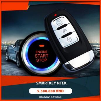 """Độ Start/Stop Smart Key Ntek cho xe hơi """"nhỏ nhưng có võ"""""""