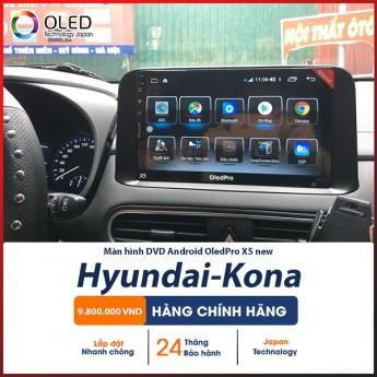 Thoát khỏi những khó khăn khi lái xe với chiếc màn hình Android OledPro X5 new cho Hyundai Kona