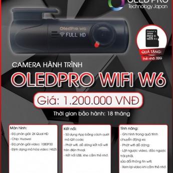 Camera hành trình OledPro wifi W6 - Giải pháp an toàn hành trình của bạn