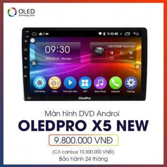 Màn hình Android Oled Pro X5 new cho Toyota Altis - Nâng tầm đẳng cấp cho xế cưng