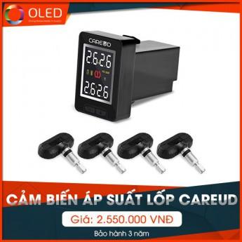 Cảm biến áp suất lốp Careud - Phụ kiện gắn nút chờ sẵn theo xe tiện ích nhất